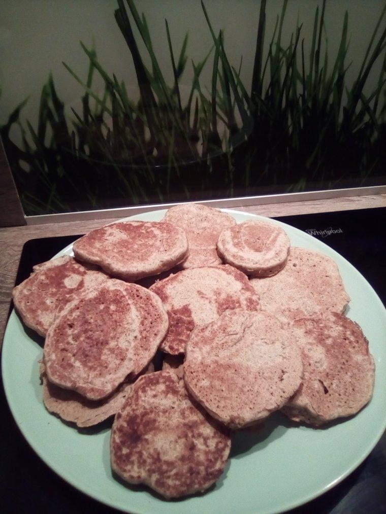 Blinis sans gluten sans lactose