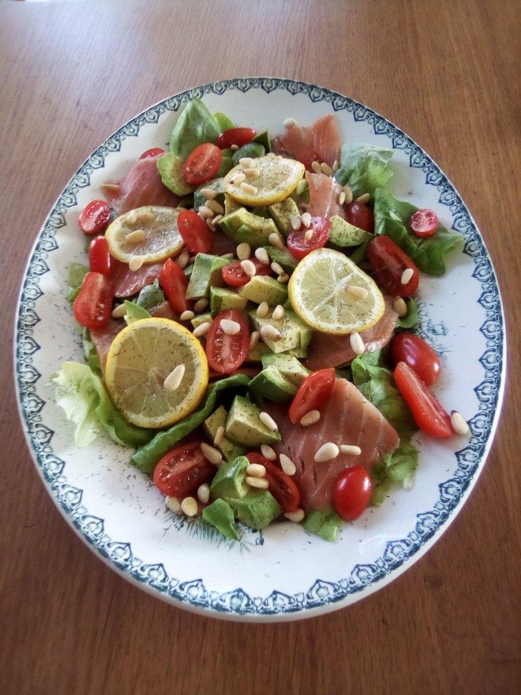 Salade de fête sans gluten