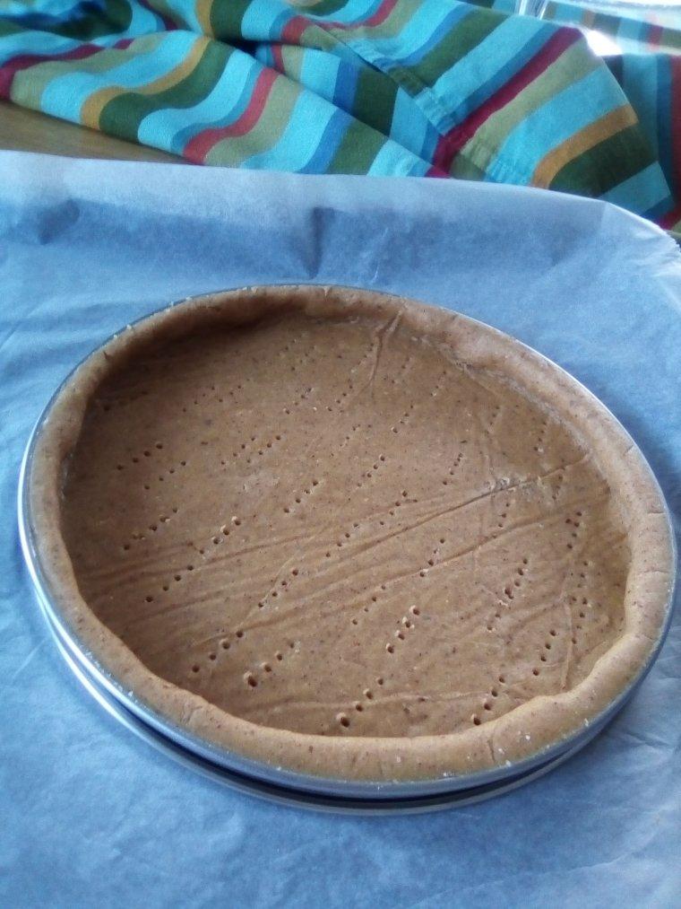 Pâte à tarte sans beurre sans gluten